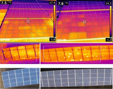 Hand held vs aerial thermography