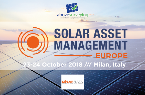 Above Surveying Ltd is proudly sponsoring this years Solar Asset Management Europe conference.