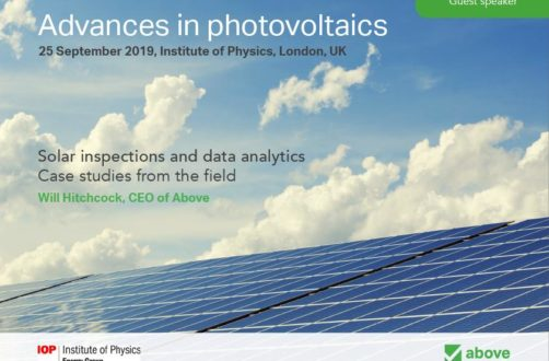 Talk at the Advances in photovoltaics conference