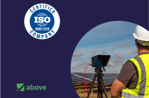 Above is ISO 45001:2018 Certified