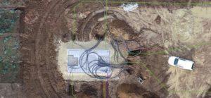 Solar Plant Construction Monitoring Aerial Solution