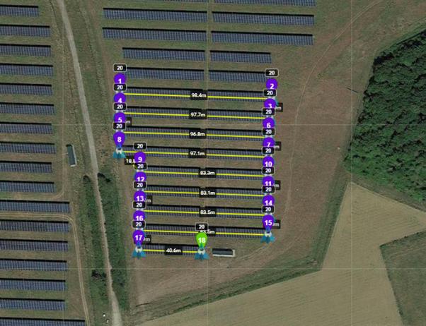 Solar drone flight planning
