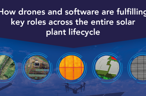 How drones and software are fulfilling key roles across the entire solar plant life cycle