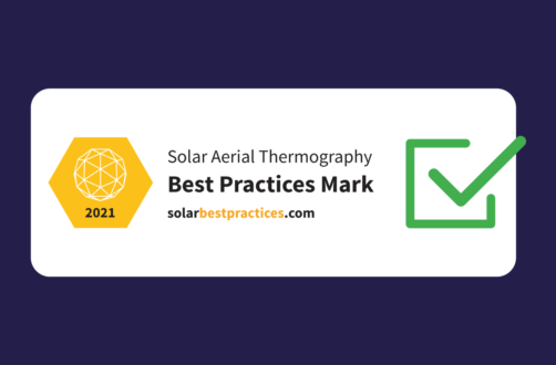The Solar Aerial Thermography Best Practices Mark 2021